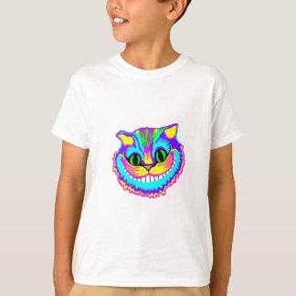 T-shirt Chat de sourire fou psychédélique