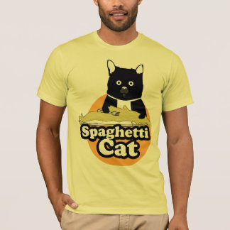 T-shirt Chat de spaghetti