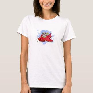 T-shirt Chat de vol