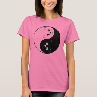 T-shirt Chat de Yin Yang Kitty