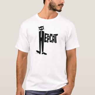 T-shirt Chat debout