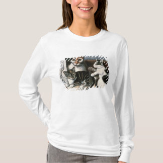 T-shirt Chat et chatons, c.1872-1883