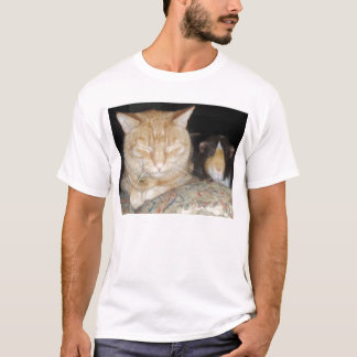 T-shirt Chat et cobaye