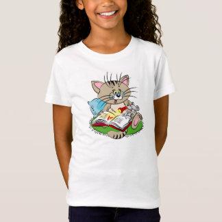 T-Shirt Chat et souris lisant un livre ensemble