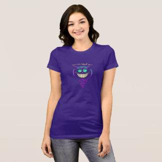 T-shirt Chat fou de We´re ici - Cheshire