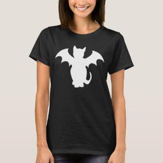 T-shirt Chat gothique de batte de Kitty Lectro