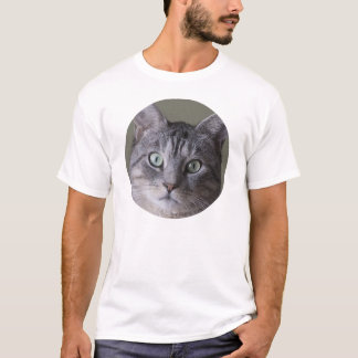 T-shirt chat gris