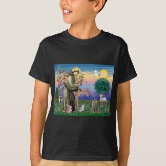T-shirt Chat norvégien tigré de forêt - St Francis