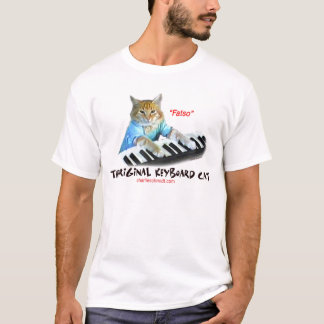 T-shirt Chat original de clavier de gros lard…