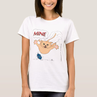 T-shirt Chat sautant sur Hanoukka Dradle