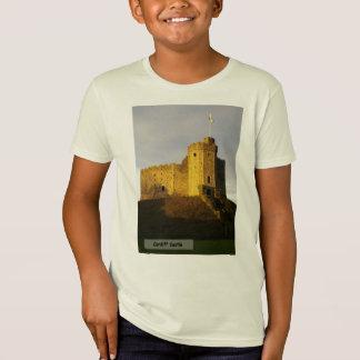 T-Shirt Château au coucher du soleil