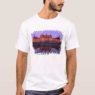 T-shirt Château Chambord au coucher du soleil, le Val de