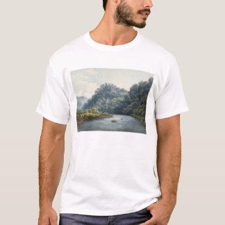 T-shirt Château de Goodrich sur le montage en étoile (la