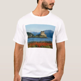T-shirt Château d'Eilean Donan, montagnes, Ecosse 3