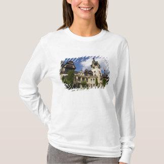 T-shirt Château du 18ème siècle de Peles, Sinaia,