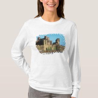 T-shirt Château du Pays de Galles - du Caerphilly, avec