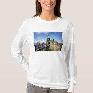 T-shirt Château Sinclair Girnigoe, mèche, Caithness,