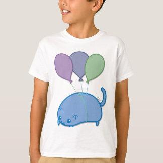 T-shirt Chaton de vol
