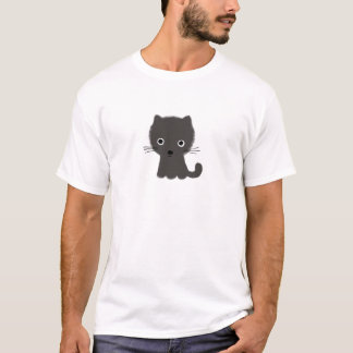 T-shirt Chaton gris