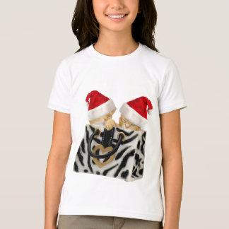 T-shirt Chatons de fête mignons dans le sac à main