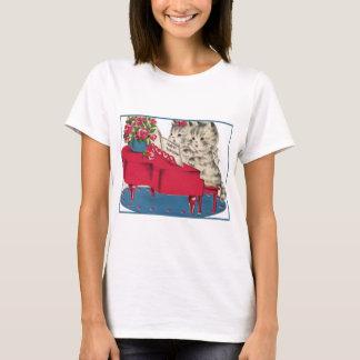 T-shirt Chatons musicaux d'anniversaire