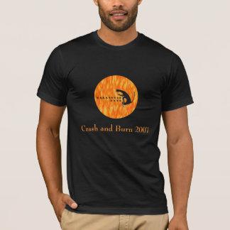 T-shirt Chats ballistiques, accident et brûlure 2007