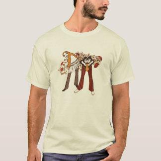 T-shirt Chats de hanche et poussins psychédéliques