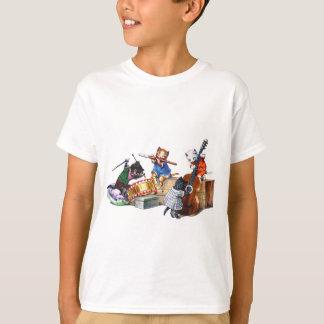 T-shirt Chats de jazz