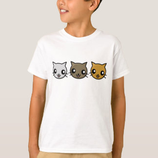 T-shirt Chats de Kawaii