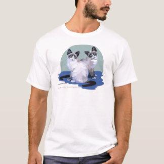 T-shirt Chats de raquette