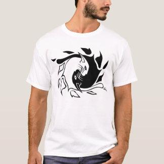 T-shirt Chats de zen