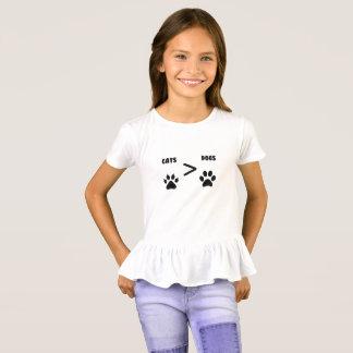 T-shirt Chats ou chiens