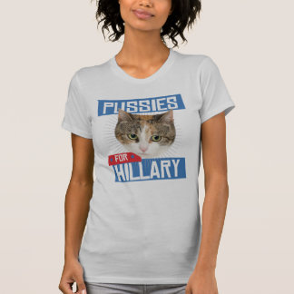 T-SHIRT CHATS POUR HILLARY