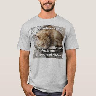 T-shirt Chats sans abri
