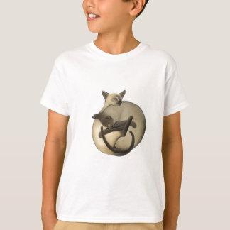 T-shirt Chats siamois de Yin Yang
