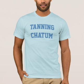 T-shirt Chatum de bronzage