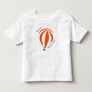 T-shirt chaud de ballon à air