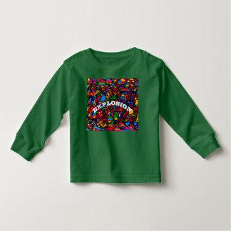 T-shirt chaud pour des enfants en bas âge