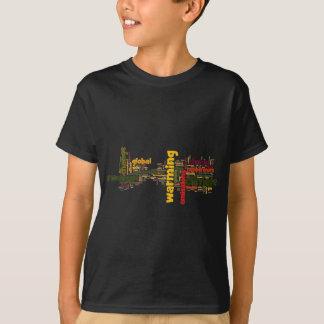 T-shirt chauffage de deux