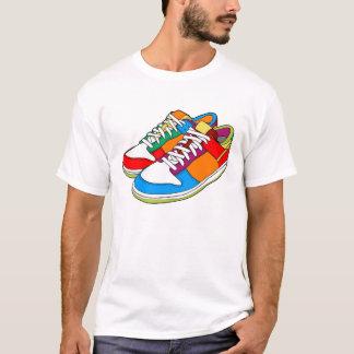 T-shirt Chaussures colorées