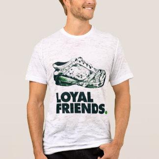 T-shirt Chaussures de course portées loyales