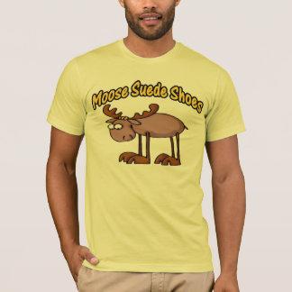 T-shirt Chaussures de suède d'orignaux