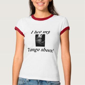 T-shirt chaussures de tango, luv d'I mon, chaussures de