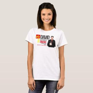T-shirt Chaussures en toile de base, Blanc 1 Femme