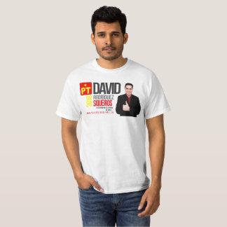 T-shirt Chaussures en toile DSR, Blanc 1 Homme