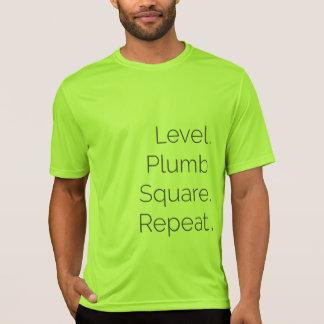 T-shirt Chaux de niveau du Dri-ajustement solides solubles