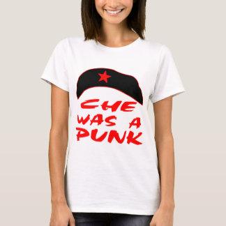 T-shirt Che était un punk