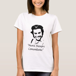 "T-shirt che_sized, ""Hasta Siempre Comandante"" - customisé"