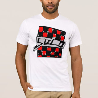 T-shirt Checkerd solo