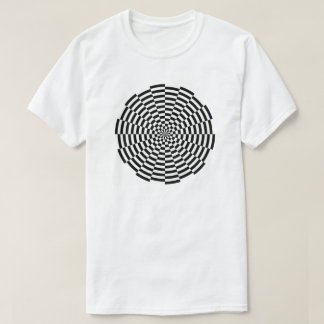 T-shirt checkered
